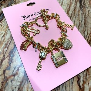 Juicy Couture Toggle Charm Bracelet